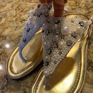 ❤️Kate Spade Pearl Sandals ❤️